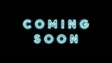 3d Illustration Rendering Text Coming Soon With Effect Light Blue Color In Wall Brick Background Simple And Elegant .
