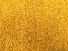 Full Frame Shot Of Yellow Textile