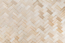 Bamboo Weave Pattern Background
