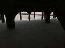 Sand Underneath Of Bridge