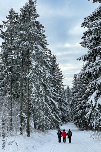 Winterwanderung im Thüringer Wald © Henry Czauderna