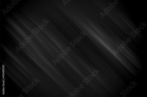 Fototapeta black dark background with shiny lines concept obraz