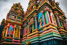 Hindu Tempel Auf Mauritius