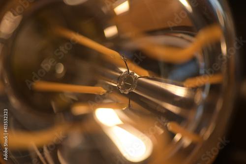 Fototapeta Close-up Of Light Bulb obraz