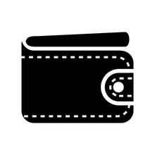 Wallet Icon In Trendy Design Vector Eps 10