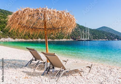 Obraz na plátně Kefalonia, Greece.