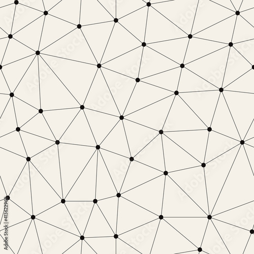 Canvas Print Vector seamless pattern