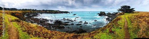 Photographie Panoramic View Of Sea Against Sky