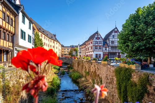 Markt, Bad Muenstereifel, Eifel, Deutschland Fotobehang