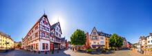Markt, Bad Muenstereifel, Eifel, Deutschland