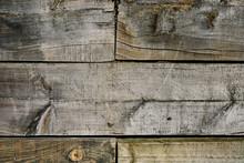 Wallpaper Of Moistened And Darkened Wooden Planks
