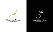 Eco Green Letter Y Logo Design Template. Green Alphabet Vector Design With Green And Fresh Leaf Illustration.