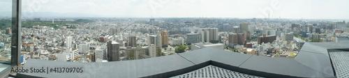 Fotografering 堺市 市役所 展望ロビーからの眺望