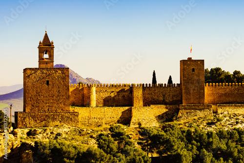 Fotografie, Tablou The Alcazaba fortress in Antequera, Spain.