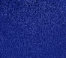 Royal Blue Leather Texture Background Surface