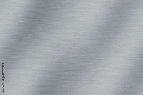 Fototapeta Brushed steel background