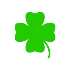 Clover, Shamrock, Green, Leaf, Irish, Luck, Patrick, Ireland, Four, St, Symbol, Saint, Day, Lucky, Isolated, Holiday, Illustration, Plant, 3d, White, Patricks, Flower, Icon, Shape, Sign