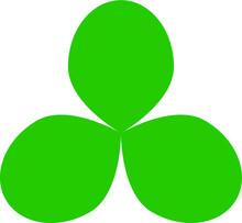 Clover, Shamrock, Green, Leaf, Irish, Luck, Four, Patrick, Ireland, Symbol, Lucky, Day, Plant, Holiday, Illustration, Isolated, Saint, St, Celebration, Flower, White, Heart, 3d, Nature, Shape