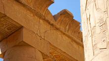 Afryka, Egipt, Luksor, Hieroglify, Kartusz, Faraon