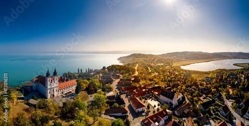 Fotografie, Obraz Tihany landscape, lake Balaton, Hungary