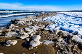 Fototapeta Fototapety z morzem do Twojej sypialni - morze zimą