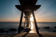 Bridge Sunrise Shine Sun Water