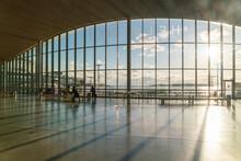 Helsinki Ferry Terminal At West Harbor Empty