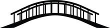Bridge Isolated Vector On White Background