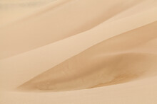 Detail Of Sand Dune Ridges And Ripples