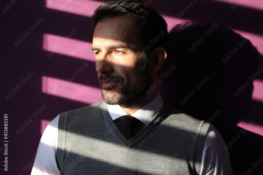 Fototapeta Elegancki mężczyzna