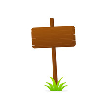 For Sale Road Sign, Great Design For Any Purposes. Vector, Isolated. Vector Drawing. Summer Garden Texture.
