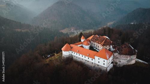 old castle in the mountains © Daniel Vincek