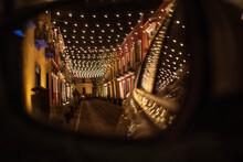 Calles De Puebla, Barrio Del Artista, Puebla, México, Puebla De Zaragoza, Calle De Los Sapos, Street Of Mexico,  Turismo En Mexico, Lugar, Luces Calidas, Night Lights, Museos, Arte.
