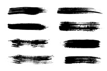 Black Abstract Brushes