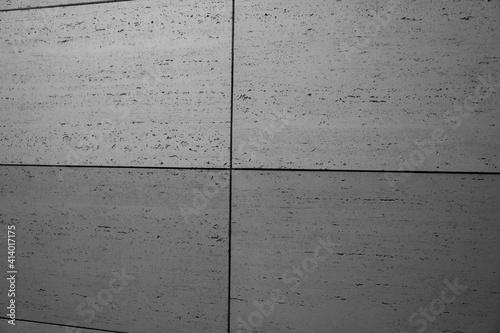Fototapeta betonowa nowoczesna ściana pokryta szarymi betonowymi płytkami w stylu modern lub loft obraz