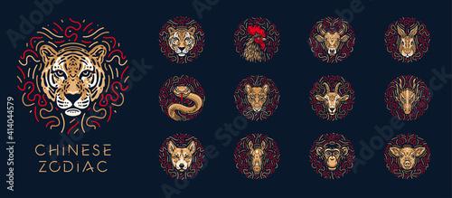 Canvastavla chinese_zodiac