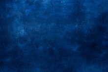 Blue Wall Grunge Background