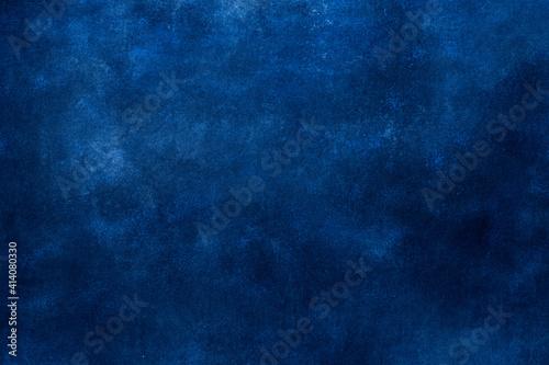 Fotografia Blue wall grunge background