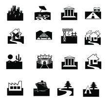 Estate Icons Set
