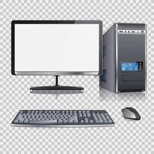 High Detailed Modern Computer