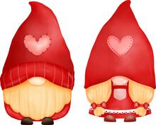 Love Valentine Gnome