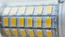 Led Bulb Diodes Seen Lighting