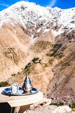 Moroccan Tea In Atlas Mountains