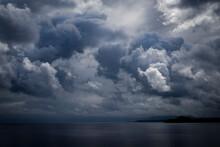Black Cloudy Dramatic Sky