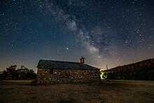 Milky Way From Santa Lucía Church