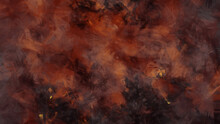 Fire Inferno In Hell Background