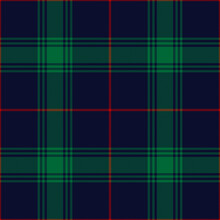 Tartan Plaid Pattern Christmas In Green, Red, Navy Blue. Dark Classic Large Textured Seamless Check Plaid Graphic Background For Blanket, Duvet Cover, Tablecloth, Scarf, Other Trendy Textile Print.