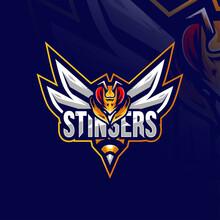 Stingers Mascot Logo Design