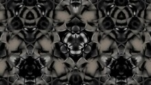 Abstract Stripes Kaleidoscope Loop