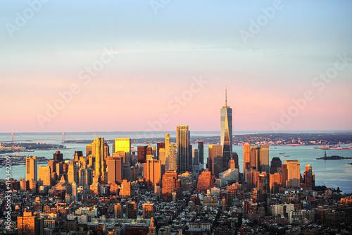 Carta da parati New York City Sunrise